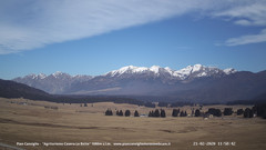 view from Pian Cansiglio - Casera Le Rotte on 2020-02-21
