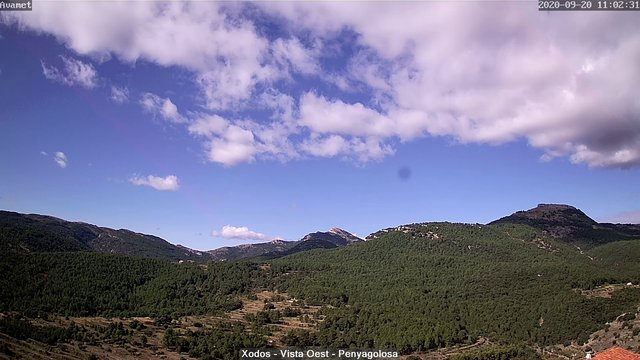 time-lapse frame, Xodos - Ajuntament (Vista Oest) webcam