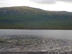 view from Lesjaskogsvatnet on 2020-08-04