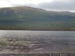 view from Lesjaskogsvatnet on 2020-08-06
