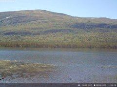view from Lesjaskogsvatnet on 2020-08-09