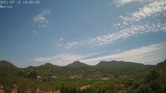 view from Borriol - la Vall del Morico (Vista Est-Desert) on 2021-07-12