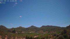 view from Borriol - la Vall del Morico (Vista Est-Desert) on 2021-07-13