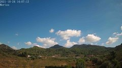 view from Borriol - la Vall del Morico (Vista Est-Desert) on 2021-10-24