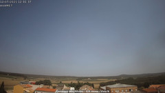 view from Fontanars2 AVAMET on 2021-07-12
