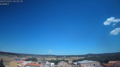 view from Fontanars2 AVAMET on 2021-07-14