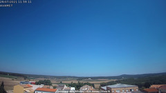view from Fontanars2 AVAMET on 2021-07-28