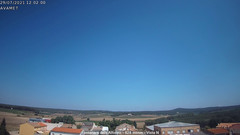 view from Fontanars2 AVAMET on 2021-07-29