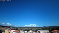 view from Fontanars2 AVAMET on 2021-09-17