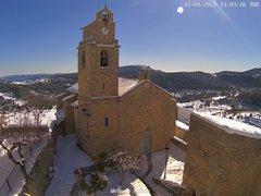 view from Xodos - Ajuntament (Plaça de l'Esglèsia) on 2021-01-12