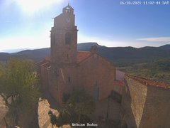 view from Xodos - Ajuntament (Plaça de l'Esglèsia)  on 2021-10-16