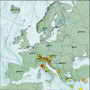 view from Erdbeben Europa on 2020-12-07