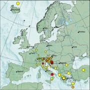 view from Erdbeben Europa on 2021-01-18