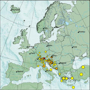 view from Erdbeben Europa on 2021-02-22