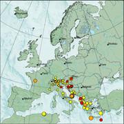 view from Erdbeben Europa on 2021-04-05