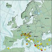 view from Erdbeben Europa on 2021-07-16