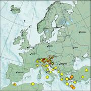 view from Erdbeben Europa on 2021-07-23
