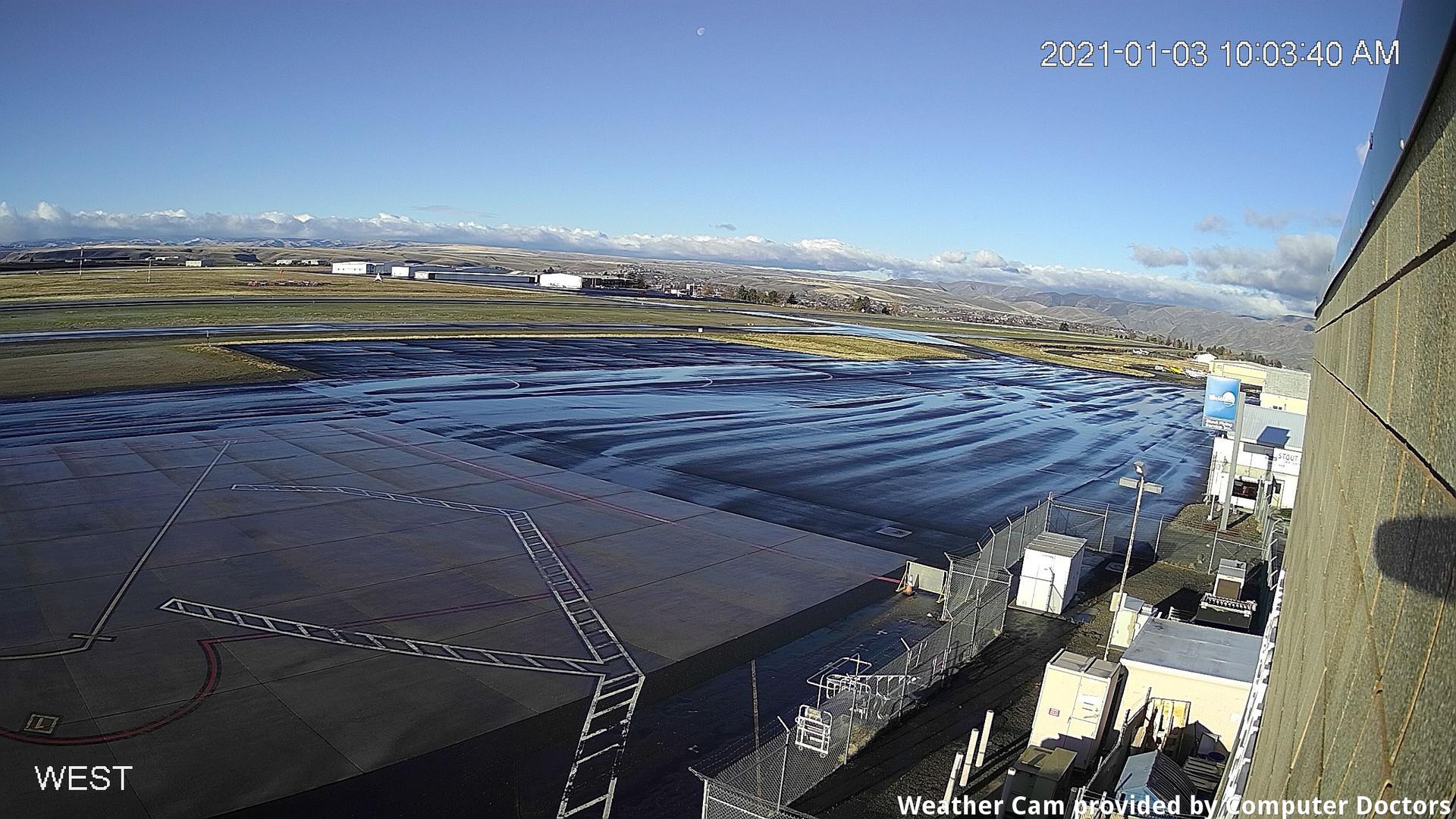 time-lapse frame, West webcam