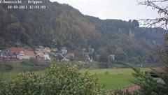 view from Webcam in Bad Schandau Sächsische Schweiz on 2021-10-18