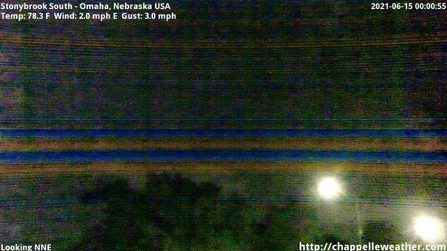 time-lapse frame, Stoneybrook South webcam