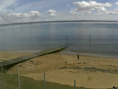 view from Cowes Yacht Club - North on 2021-02-24
