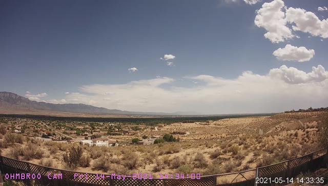 time-lapse frame, 2021-05-14-Haboob webcam