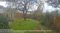 view from Wembury, Devon. Garden Cam on 2021-03-15