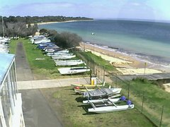 view from Cowes Yacht Club - West on 2021-09-06