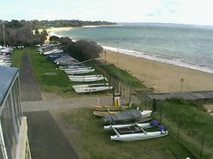 view from Cowes Yacht Club - West on 2021-09-12