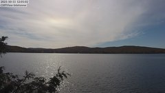 view from 4th Lake, Inlet, NY on 2021-10-11