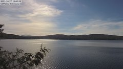 view from 4th Lake, Inlet, NY on 2021-10-27