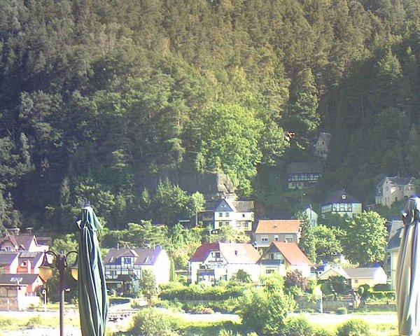 time-lapse frame, Webcam in Bad Schandau, Krippen & Postelwitz webcam