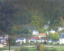 view from Webcam in Bad Schandau, Krippen & Postelwitz on 2021-10-17