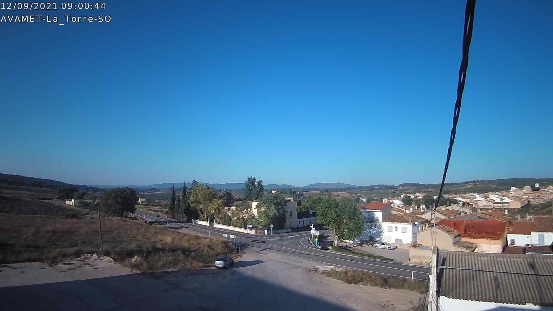 time-lapse frame, Coratxà AVAMET webcam