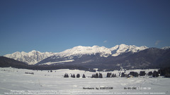 view from Pian Cansiglio - Casera Le Rotte on 2021-01-16