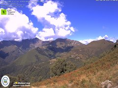 view from Lago Maggiore Zipline on 2021-08-30