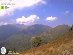 view from Lago Maggiore Zipline on 2021-09-13