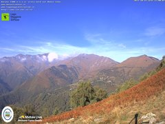 view from Lago Maggiore Zipline on 2021-10-15