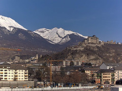 view from Sion - Industrie 17 on 2021-02-14