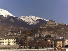view from Sion - Industrie 17 on 2021-02-19
