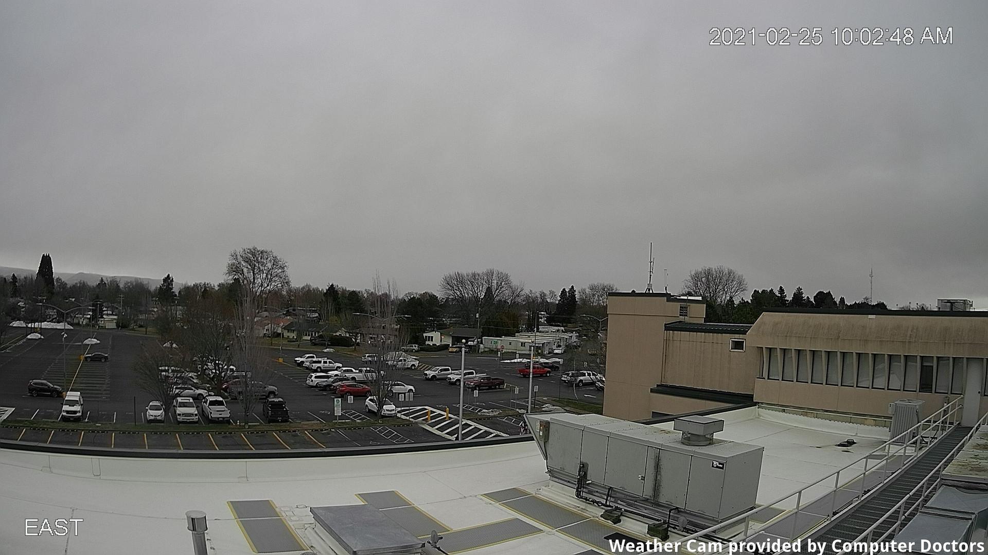 time-lapse frame, East webcam