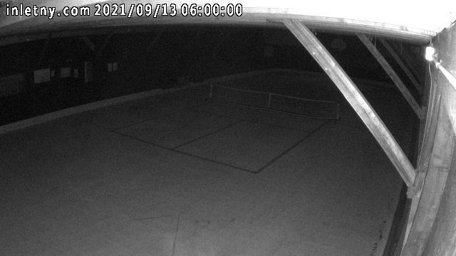 time-lapse frame, Inlet Fern Park Rink webcam