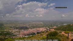 view from Enguera ADENE on 2021-08-30